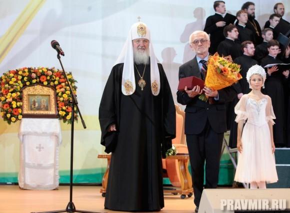 Литературная премия Патриарха. Фото Владимира Ходакова (31)
