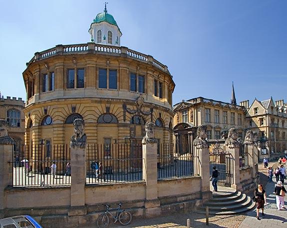 Театр Шелдониан в Оксфорде