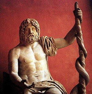 Асклепий – древнегреческий бог врачевания