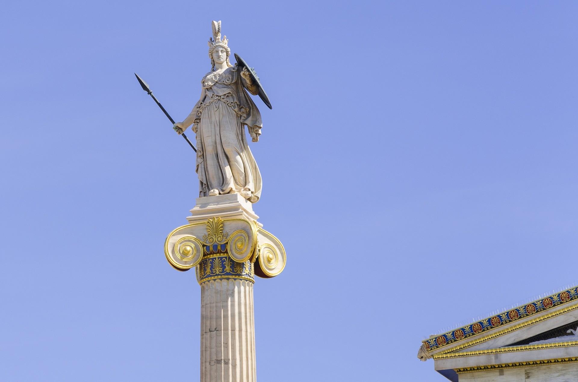 Боги Древней Греции - Афина