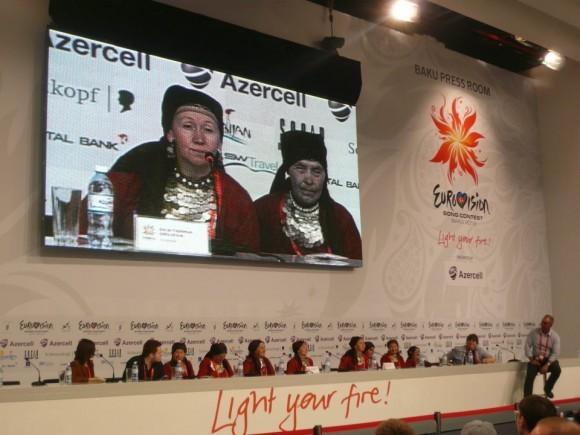 Пресс-конференция в Баку