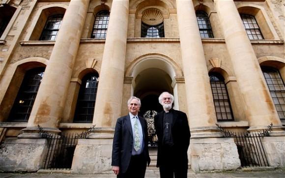 Ричард Докинз и Роуэен Уильямс.  Источник: REUTERS