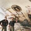 В храме Рождества Иоанна Предтечи на Пресне обнаружены фрески, которые могли быть написаны Васнецовым
