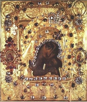 Касперовская икона Божией Матери из Свято-Успенского Одесского кафедрального собора