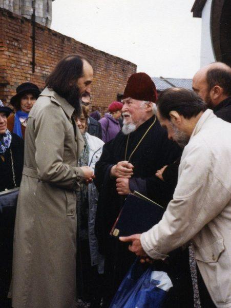 Архиепископ Михаил, конец 1990 гг.