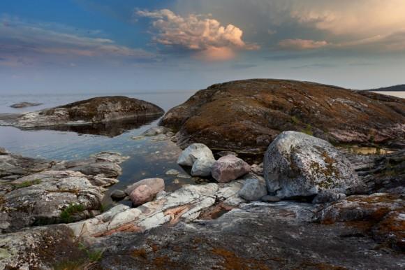 «На Севере диком стоит одиноко».  Автор: Зинаида Макарова