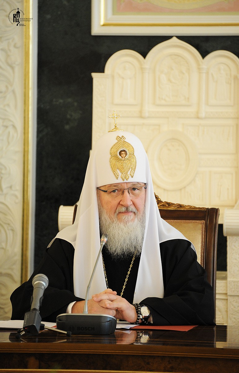 Патриарх Кирилл: Религиозные лидеры призваны говорить о пагубности попыток построения мира без Бога