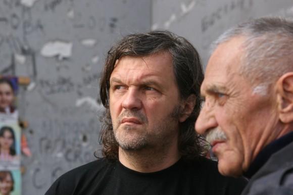 Эмир Кустурица в Беслане