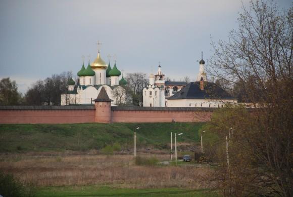 Вид на Спасо-Ефимиев монастырь