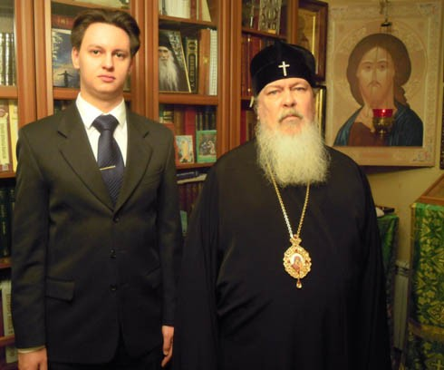 Александр Вишневский и архиепископ Филарет (Карагодин)