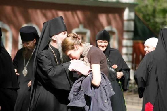 С духовной дочерью