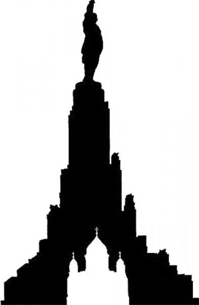 По проекту Дворец Советов должен был высотой превосходить Храм Христа Спасителя в 4 раза.