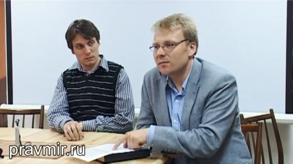 Юрий Белановский (слева) и Роман Лункин
