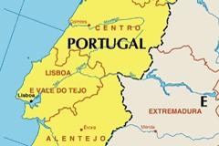 У карты Португалии