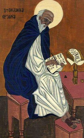 Преподобный Колумба Ионский