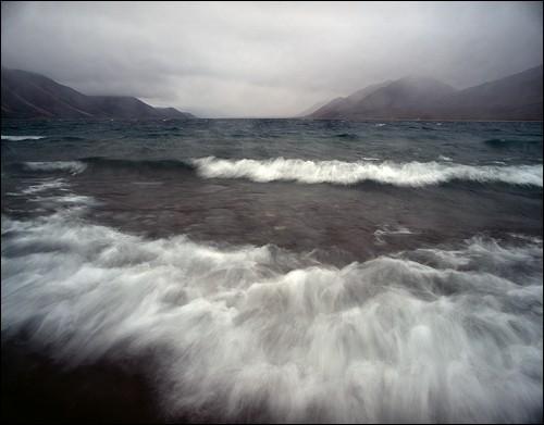 Озеро Ыстигэт. Ыстигэтская коса, Чукотка