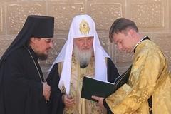 Мирный визит Патриарха на Кипр (ФОТОрепортаж)