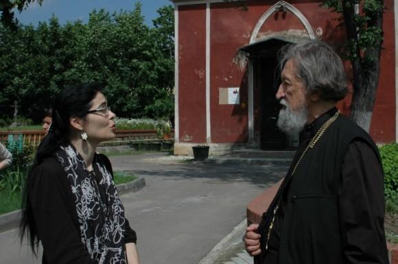 Наталья Самовер и прот. Александр Салтыков