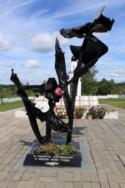 Монумент погибшим в Арзамасе. Фото arzy с сайта panoramio.com