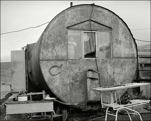 Мир в окошке. Близ поселка Лорино, Чукотка