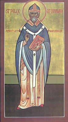 Святой Феликс, апостол Восточной Англии