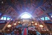 Божественная литургия в храме святого апостола Варнавы. Фото Кирилла Новотарского. Патриархия.ру (9)