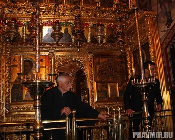 Патриарх Кирилл в Киккском монастыре (19)
