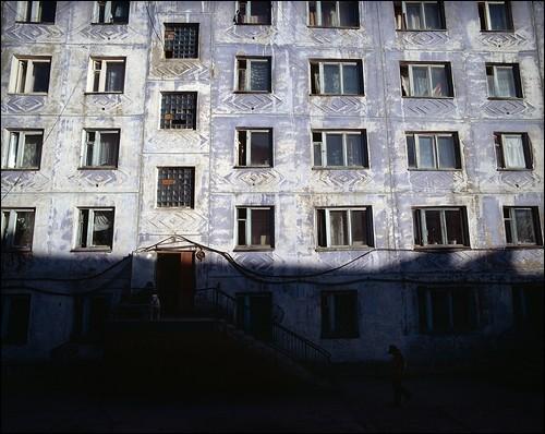 Солнечная сторона. Поселок Провидения, Провиденский район, Чукотка