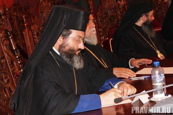 Торжественное заседание Священного Синода Кипрской Православной Автокефальной церкви