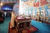 Божественная литургия в храме святого апостола Варнавы. Фото Кирилла Новотарского. Патриархия.ру (12)