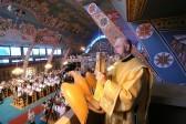 Божественная литургия в храме святого апостола Варнавы. Фото Кирилла Новотарского. Патриархия.ру (13)