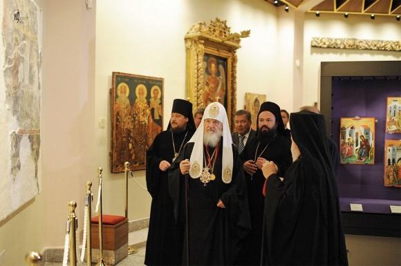 В музее монастыря