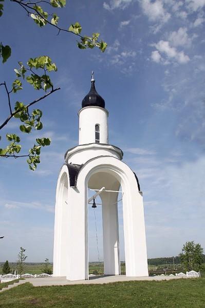 Часовня-звонница в Арзамасе. Фото с сайта Нижегородской епархии nne.ru