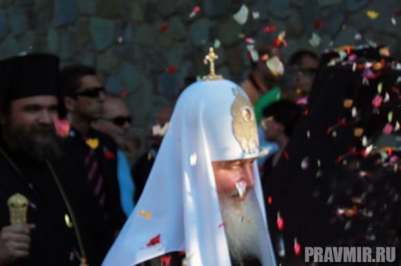 Патриарх Кирилл в Киккском монастыре (35)