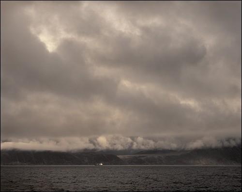 Выход в море. Берингово море, Чукотка