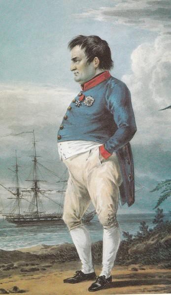 А.Г.Орловский. Наполеон в изгнании