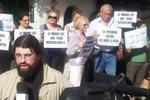 Православные Касабланки протестуют против сноса храма