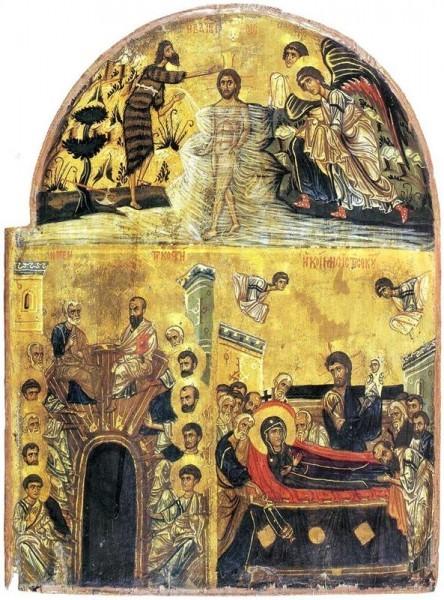 Святая Троица. Пятидесятница Крещение. Пятидесятница. Успение Богородицы. Синайская икона