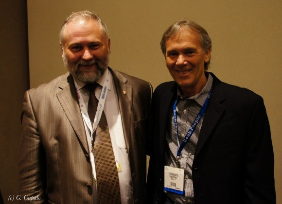 С вице-президентом Ассоциации С. Берку.