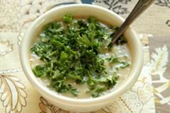 Постная еда с Анной Людковской: картофельный суп