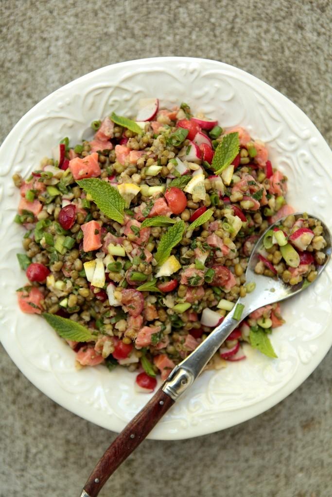 рецепт салат горох маш