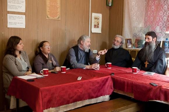 Круглый стол о многодетной семье. Фото Юлии Маковейчук