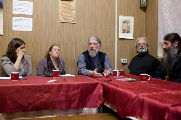 Круглый стол в редакции. Фото Юлии Маковейчук