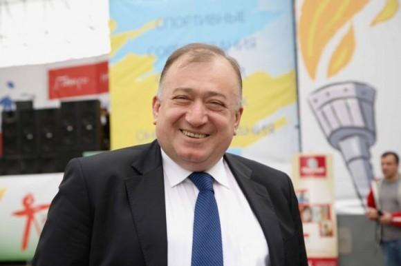 Шаварш Карапетян, главный судья Игр Победителей – соревнований для детей, перенесших онкозаболевания