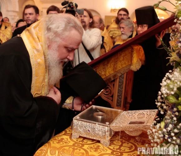 Мощи святого Лазаря Четверодневного в России. Фото Владимира Ходакова (21)