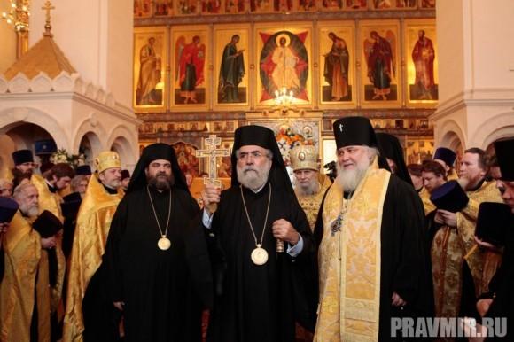 Мощи святого Лазаря Четверодневного в России. Фото Владимира Ходакова (23)