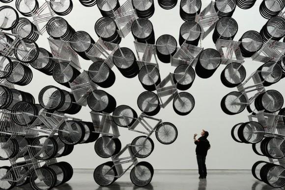 Велосипеды навсегда. Музей изобразительных искусств в Тайбэе, Китай, 2011 год