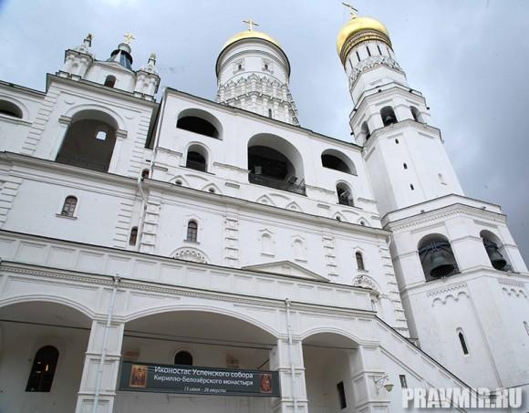 Иконостас Кирилло-Белозерского монастыря в Кремле. Фото Ксении Прониной (3)