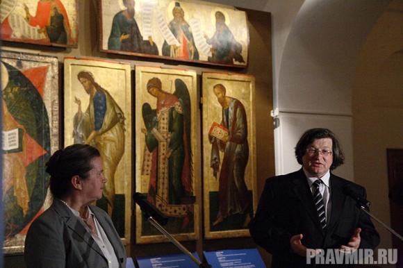 Иконостас Кирилло-Белозерского монастыря в Кремле. Фото Ксении Прониной (5)