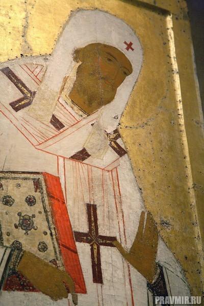 Митрополит Петр. Деисусный чин иконостаса